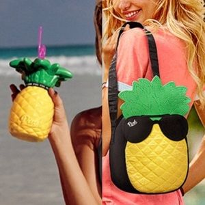 PINK pineapple lunch tote and cup! 🍍